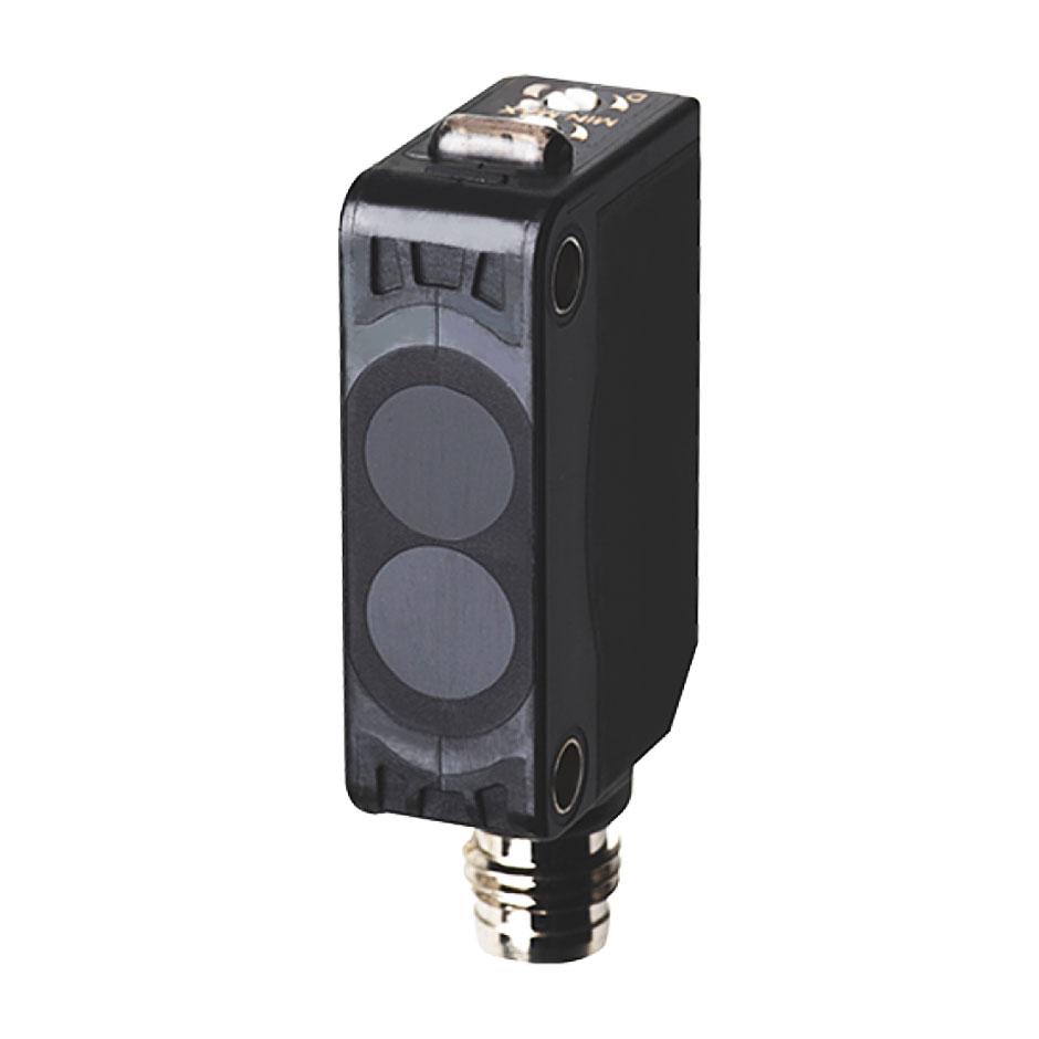 سنسور نوری یک طرفه سه سیمه PNP با تغذیه 24-12 ولت DC و فاصله تشخیص 1 متری BJ1M آتونیکس