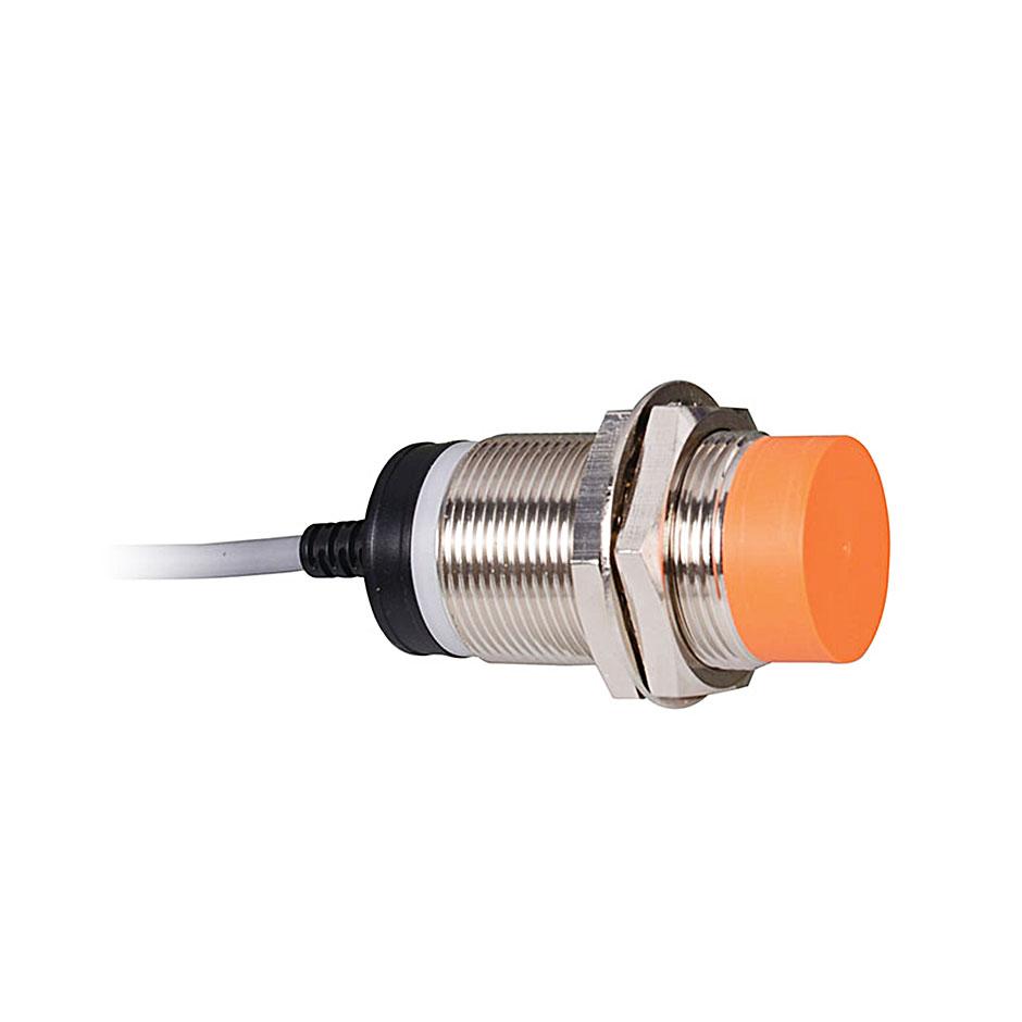 سنسور القایی دو سیمه کابلی کنتاکت بسته با فاصله تشخیص 15 میلیمتری و تغذیه 250-90 ولت AC سی ان تی دی
