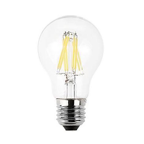 لامپ حبابی فیلمانی 8 وات سفید ای دی سی