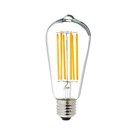 لامپ حبابی فیلمانی خمره ای 8 وات آفتابی ای دی سی