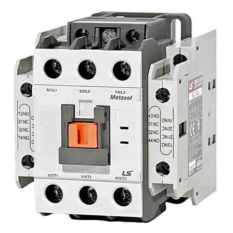 کنتاکتور 40 آمپر 18.5 کیلووات بوبین 110 ولت DC ال اس