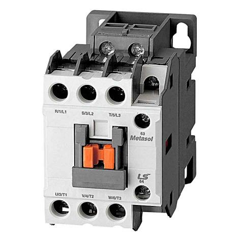 کنتاکتور 18 آمپر 7.5 کیلووات بوبین 110 ولت DCال اس