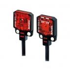سنسور نوری دو طرفه سه سیمه PNP با تغذیه 24-12 ولت DC و فاصله تشخیص 1 میلی متری BTF آتونیکس