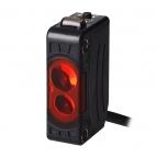 سنسور نوری یک طرفه سه سیمه PNP با تغذیه 24-12 ولت DC و فاصله تشخیص 100 میلی متری BJN100 آتونیکس