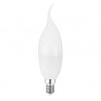 لامپ شمعی مات 5 وات سفید طبیعی ای دی سی