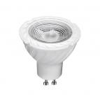 لامپ هالوژن پایه استارتی 5 وات لنزدار با سوکت سفید ای دی سی