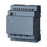 کارت ورودی/خروجی دیجیتال لوگو زیمنس مدل DM16 با تغذیه 24 ولت AC/DC و خروجی رله ای