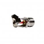 اسپرینکلر قاب کروم 3/4 اینچ دیواری واکنش استاندارد آریا با نرخ تخلیه 115