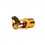 اسپرینکلر قاب طلایی 3/4 اینچ دیواری واکنش استاندارد آریا با نرخ تخلیه 115