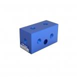 ترمینال (منیفولد) بلوکی پنوماتیک با شش مجرا و سایز دنده 1/4 اینچ پارس نیوماتیک