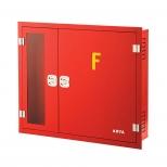 جعبه آتش نشانی دو کابین افقی توکار آریا کوپلینگ مدل FB300