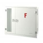 جعبه آتش نشانی دو کابین افقی توکار آریا کوپلینگ مدل FB302