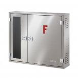 جعبه آتش نشانی دو کابین افقی روکار آریا کوپلینگ مدل FB305