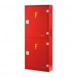 جعبه آتش نشانی دو کابین عمودی روکار آریا کوپلینگ مدل FB311