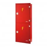 جعبه آتش نشانی دو کابین عمودی توکار آریا کوپلینگ مدل FB310