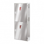 جعبه آتش نشانی دو کابین عمودی توکار آریا کوپلینگ مدل FB312