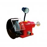 ماشین سنگ پرداخت رومیزی 200 میلیمتر برقی چراغ دار تک فاز  محک مدل PGD-200-1L