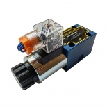 شیر کنترل جهت هیدرولیک 4/2 سایز 1/4 تک بوبین 220 ولت هیدرونوا