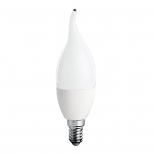 لامپ ال ای دی 6 وات شمعی و اشکی مات نور