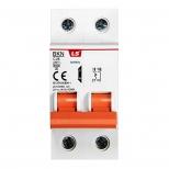 کلید مینیاتوری تک پل + نول 25 آمپر روشنایی با قدرت قطع6kA ال اس