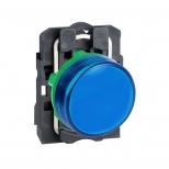 چراغ سیگنال LED آبی پلاستیکی 24 ولت DC/AC اشنایدر الکتریک
