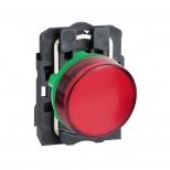 چراغ سیگنال LED قرمز پلاستیکی 24 ولت DC/AC اشنایدر الکتریک