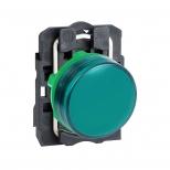 چراغ سیگنال LED سبز پلاستیکی 24 ولت DC/AC اشنایدر الکتریک