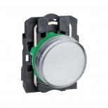 چراغ سیگنال LED سفید پلاستیکی 24 ولت DC/AC اشنایدر الکتریک
