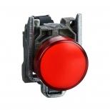 چراغ سیگنال LED قرمز فلزی 24 ولت DC/AC اشنایدر الکتریک