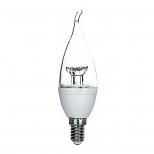 لامپ ال ای دی 5.5 وات اشکی شفاف سری TO نور