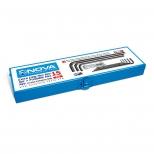 ست آچار آلن جعبه ای شش گوش 15 عددی نووا مدل NTK1150