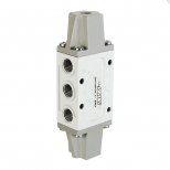 شیر سیگنال دوبل، کنترل جهت پنوماتیک 5/2 سایز 1/4  اف ام اس مدل 5203H-Y