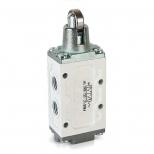 شیر میکرو سوئیچی کنترل جهت پنوماتیک 5/2 سایز 1/4 غلطک کناری اف ام اس مدل 52051M-Y