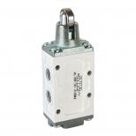 شیر میکرو سوئیچی کنترل جهت پنوماتیک 5/2 سایز 1/4  اف ام اس مدل 5205M-Y