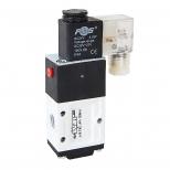 شیر برقی کنترل جهت پنوماتیک 3/2 سایز 1/4 تک بوبین 24 ولت اف ام اس مدل 3X2-B-Y