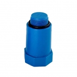 درپوش پایه بلند پلاستیکی آبرسانی تک لایه پلی پروپیلن 3/4 اینچ آذین لوله مدل 50972