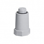 درپوش پلاستیکی آبرسانی تک لایه پلی پروپیلن 1/2 اینچ آذین لوله مدل 50100