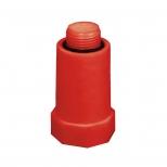 درپوش پایه بلند پلاستیکی آبرسانی تک لایه پلی پروپیلن 1/2 اینچ آذین لوله مدل 50981