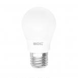 لامپ LED حبابی ۵ وات سفید طبیعی A50 ای دی سی مدل S