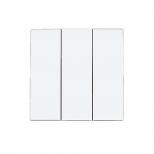 صفحه کلید سه پل سفید پارت الکتریک مدل آذین