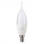 لامپ اشکی و شمعی 7 وات مهتابی بروکس مدل C37L