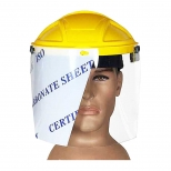 کلاه شیلد پزشکی ارتفاع 25 سانتی متر هترمن