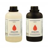 نیتریک اسید 55 درصد گرید آزمایشگاه یک لیتری بطری پلاستیکی آرمان سینا