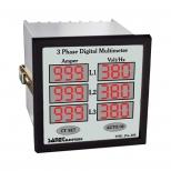 سوپر مولتی متر سه فاز دیجیتال (یکپارچه 1*10) صانت الکترونیک مدل SVA-896