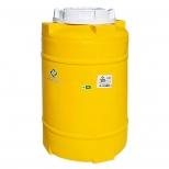 مخزن آب انبساط شوفاژخانه عمودی تک لایه پلی اتیلن 100 لیتری پلاستونیک مدل 9110