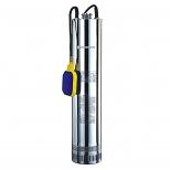 الکتروپمپ شناور طرح اسکوبا تک فاز 1/4-1 اینچ با هد 65 متر و دبی 8 متر مکعب بر ساعت استارست مدل 125SCM406A-1.1