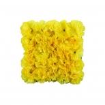 ديوار سبز مصنوعي مدل ميخك رنگ زرد مانا چمن