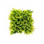 دیوار سبز مصنوعی مدل آناناسی رنگ سبز و زرد مانا چمن
