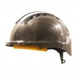 کلاه ایمنی کار در ارتفاع طرح فیبر کربن هترمن مدل MK8