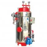 بویلر (دیگ) بخار عمودی 612 لیتر و 300 کیلوگرم بر ساعت آب بند مدل spv-300